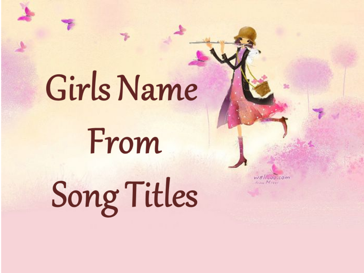 Girls Name From Song Titles
