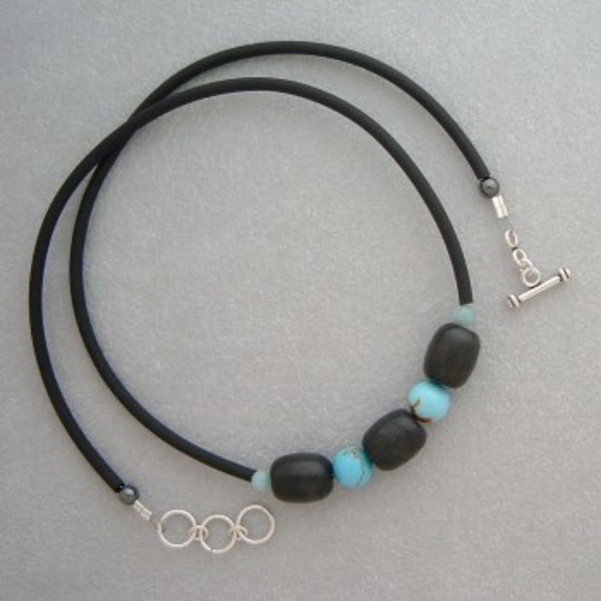 Surfer-style jewelry is popular with many teens