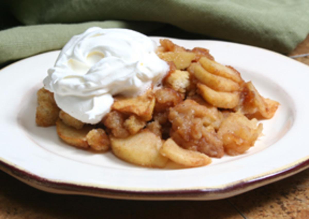 Easy Apple Dessert Recipes - Healthy Low Fat & Fat Free