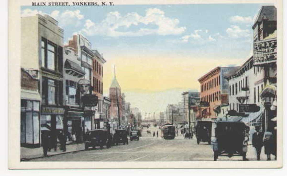 Main Street, Yonkers, N.Y., a few decades ago