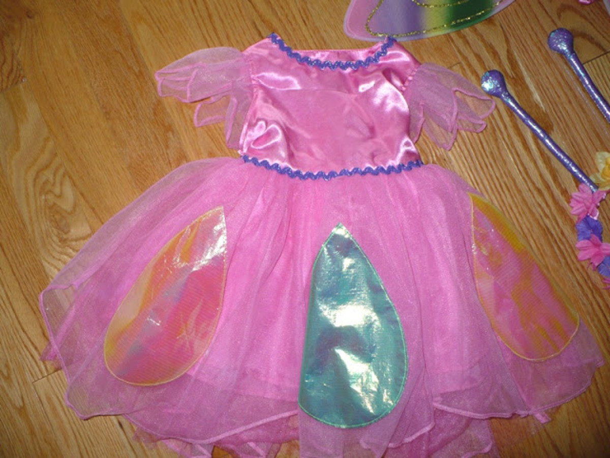 TCP butterfly dress for girls for Halloween 2013