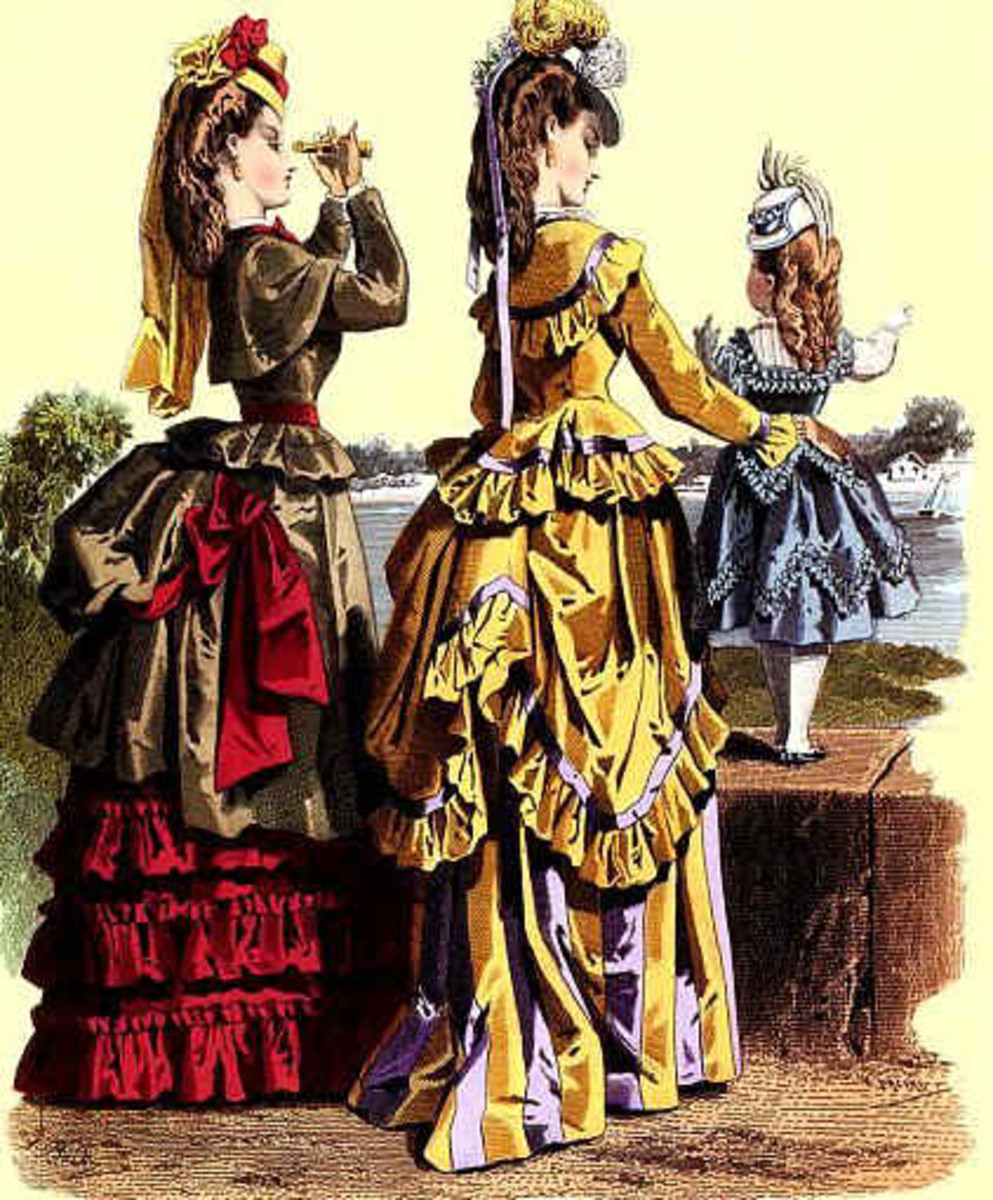 Proper Victorian ladies did not socialize much with the menfolk, instead they kept each other company - sometimes even after marriage.