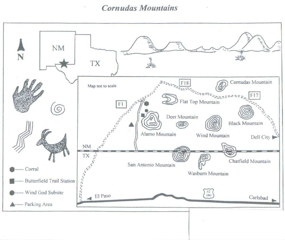 Cornudas Mountains, New Mexico