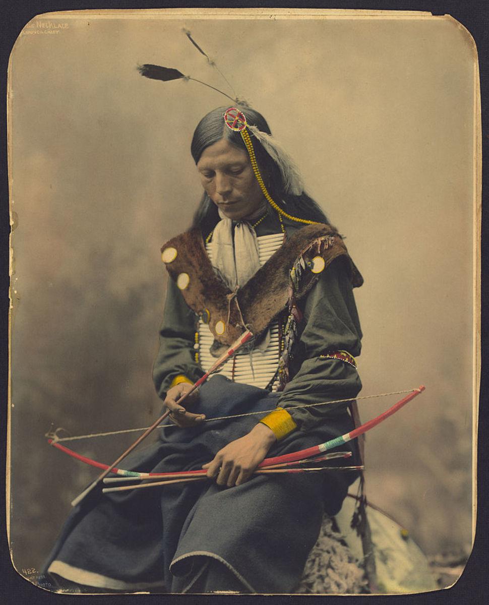 Chief Bone Necklace  of the Oglala Lakota