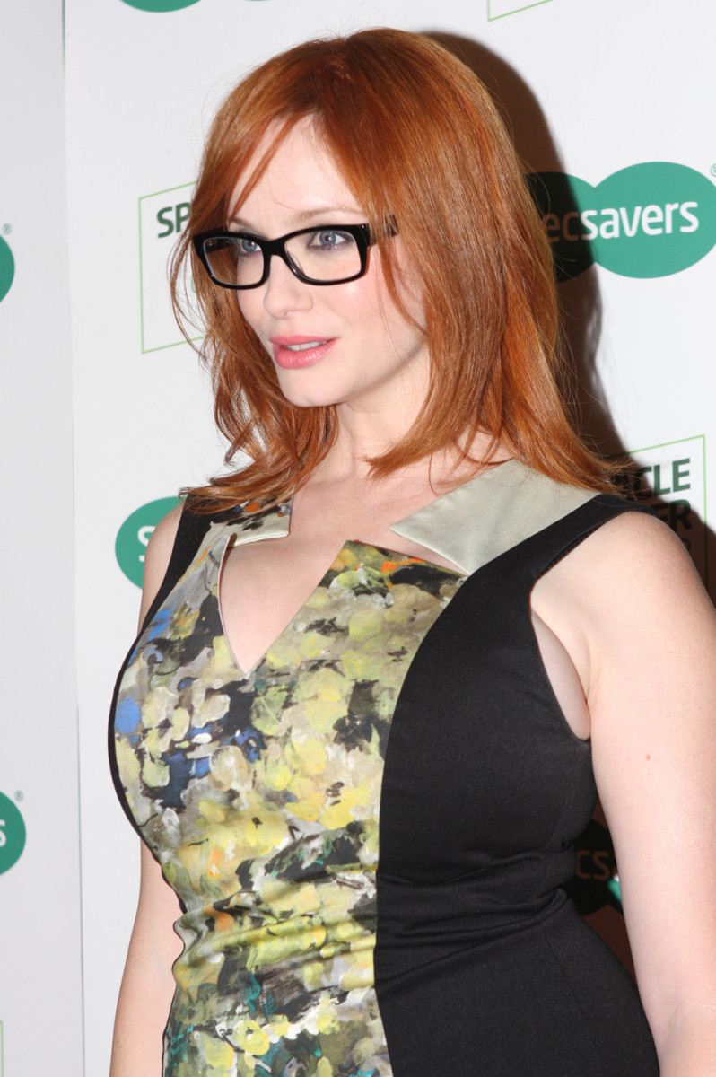 Actress Christina Hendricks  the sexiest woman in the world in 2010