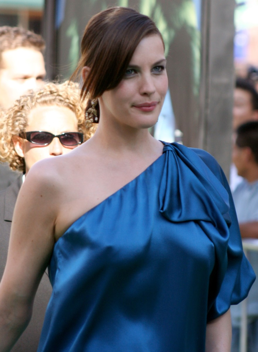 Liv Tyler at the premiere for The Incredible Hulk.June 2008