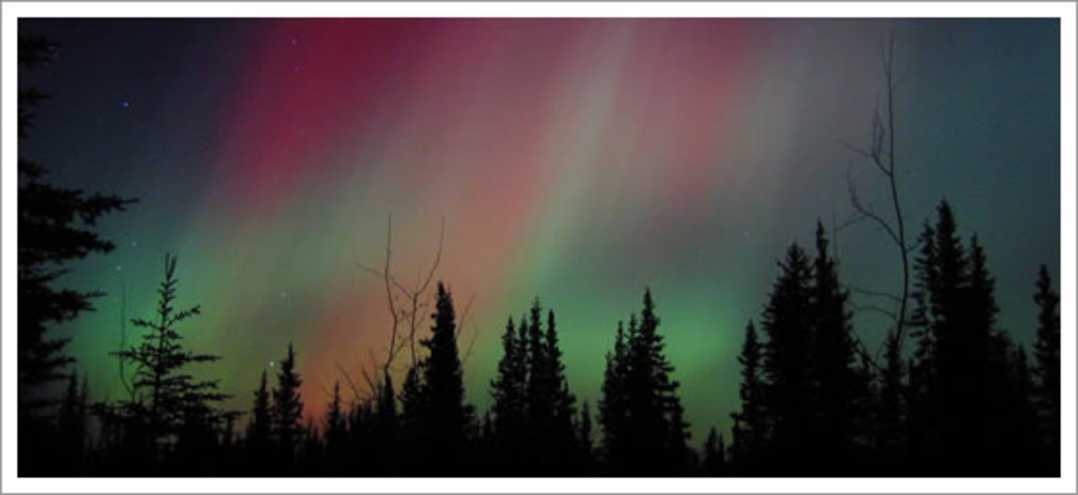 Aurora Borealis in the Northwest Territories