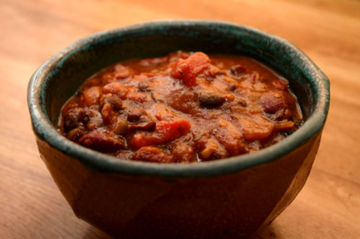 Vegetarian Chili Recipe, Quick and Easy