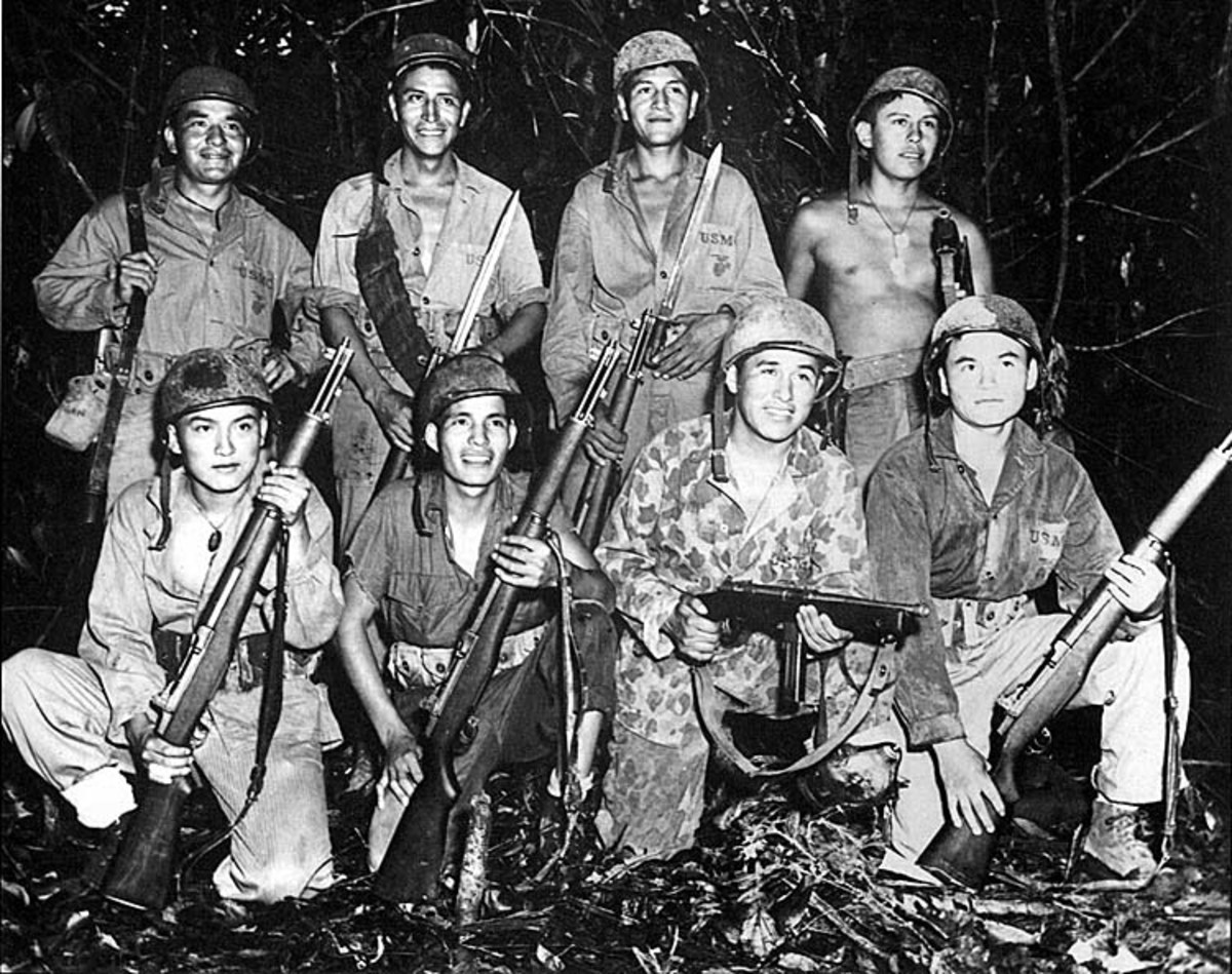 Native American Nations of the Far West and Their Heroes: Last Navajo Code Talker Gone in 2014