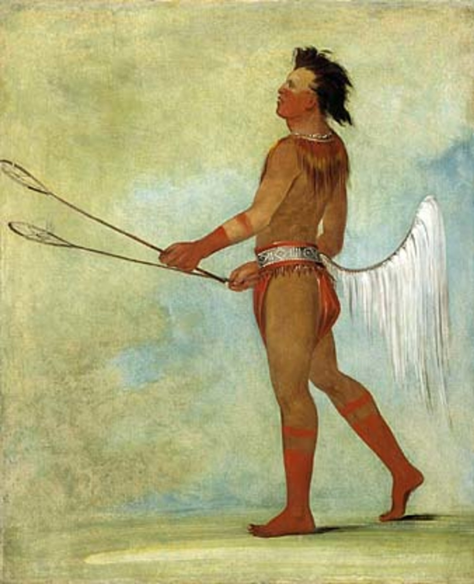 Choctaw, by George Catlin in 1834