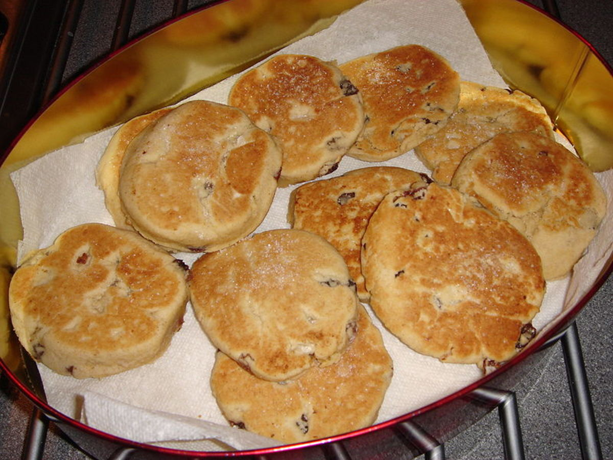 Welsh Cakes and Clotted Cream - A Favorite Traditional Recipe