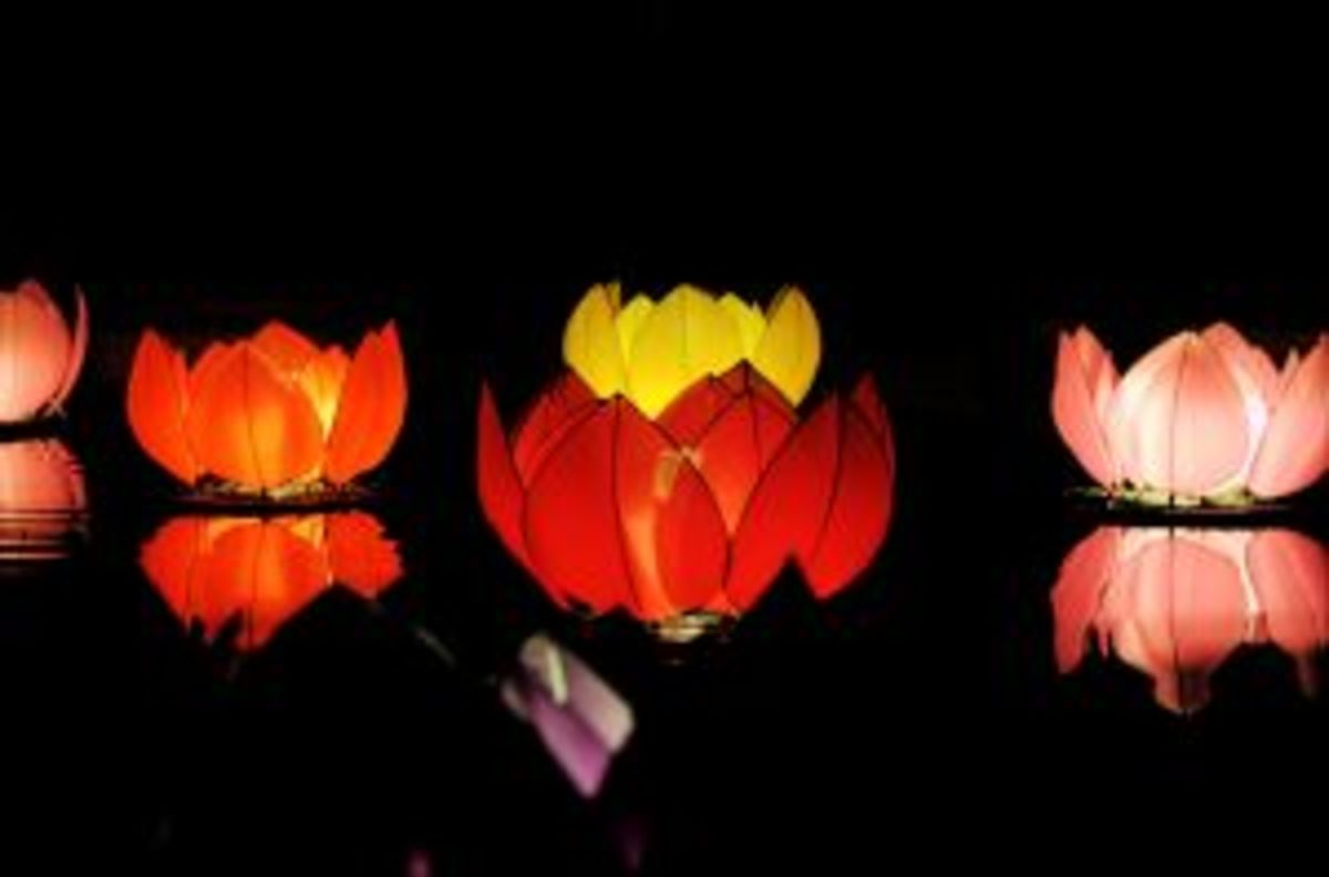 A special occasion light festival.