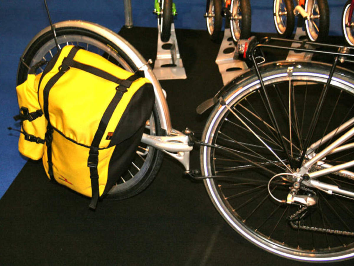New ExtraWheel Voyager panniers