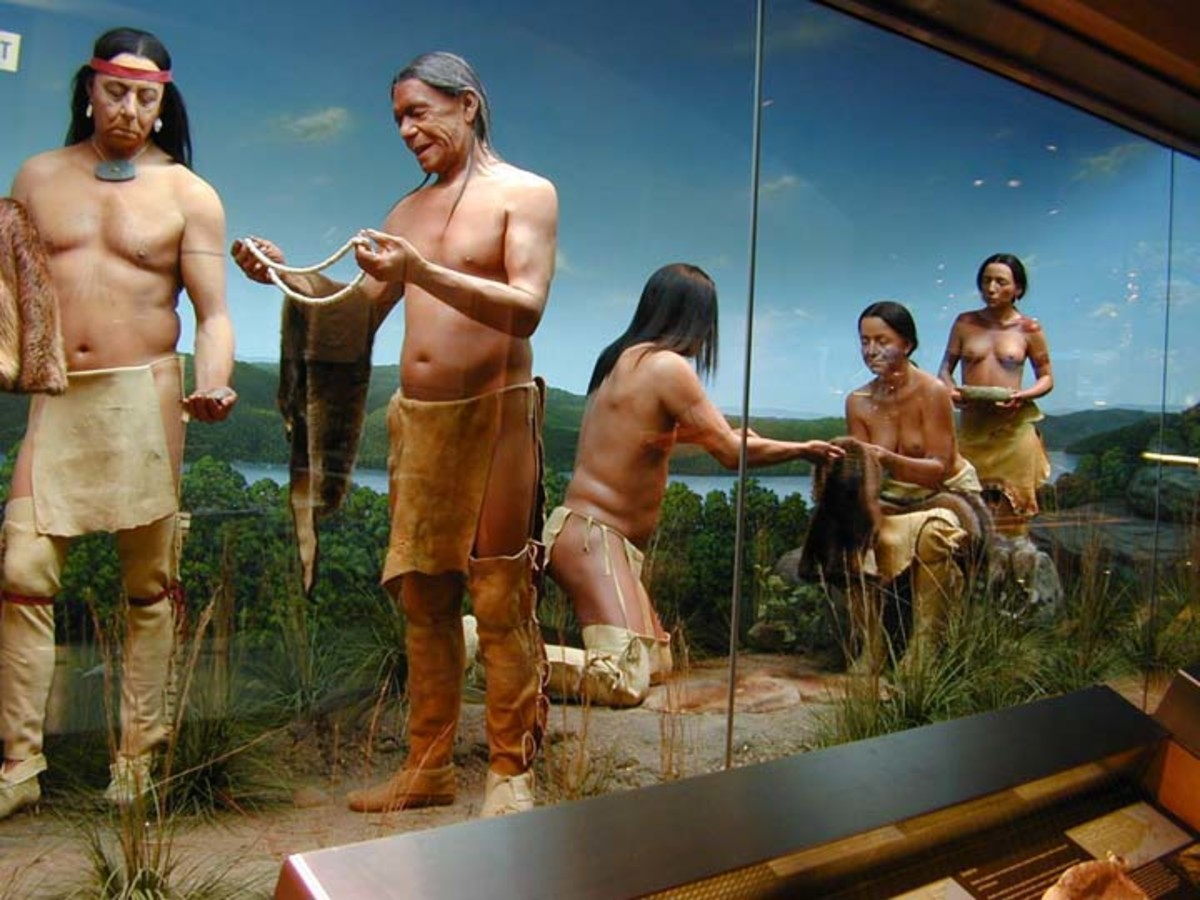 Mashantucket Pequot Tribe at the Mashantucket Pequot Museum and Research Center