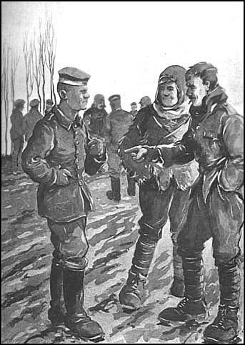 World War I Christmas Miracle On the Western Front