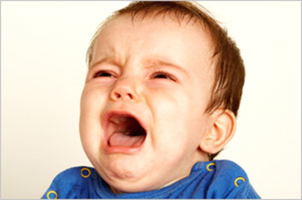 Crying babies.... the last nail in the coffin to many relationships.