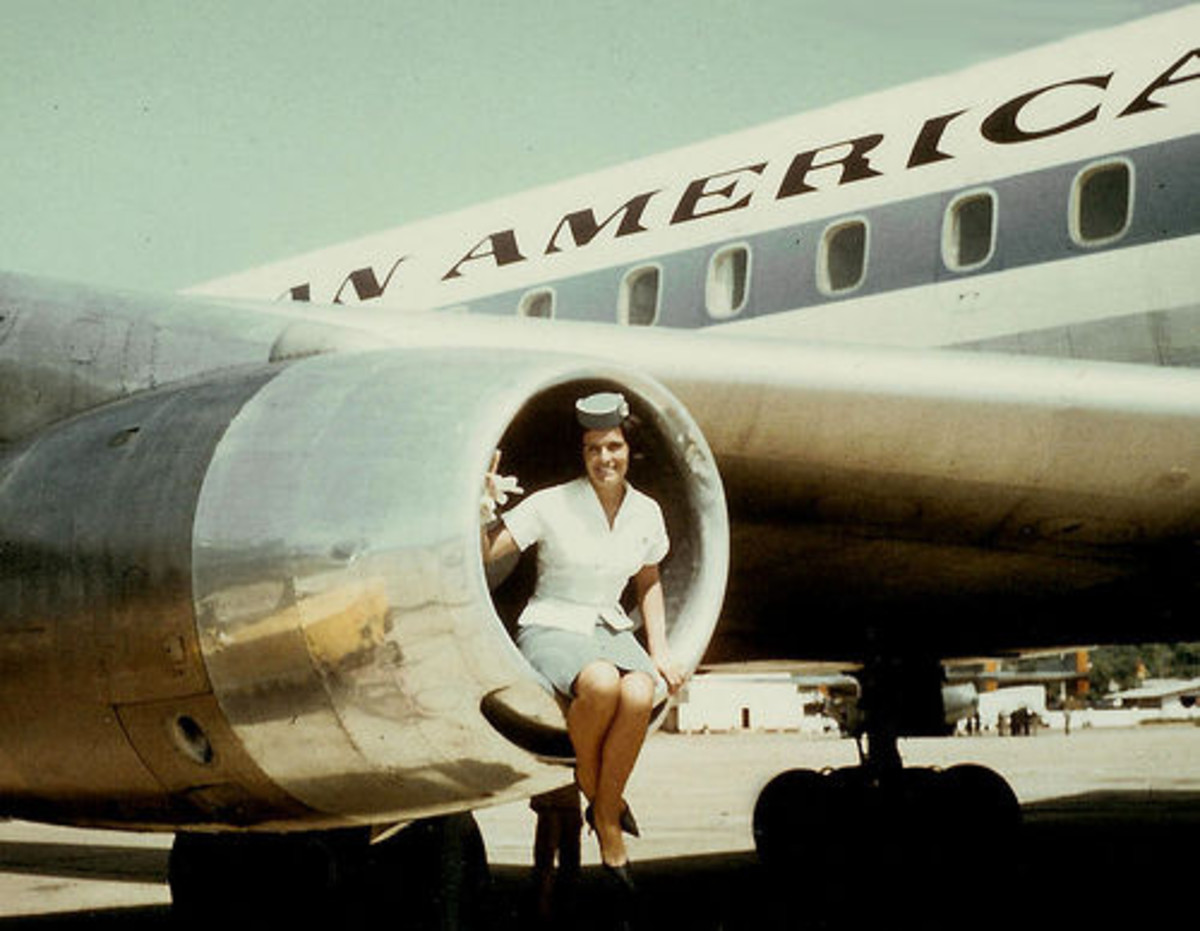 Hostess in a Jet Engine - Why?