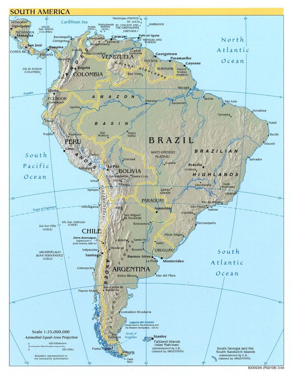 Native South Americans in Peru and Bolivia