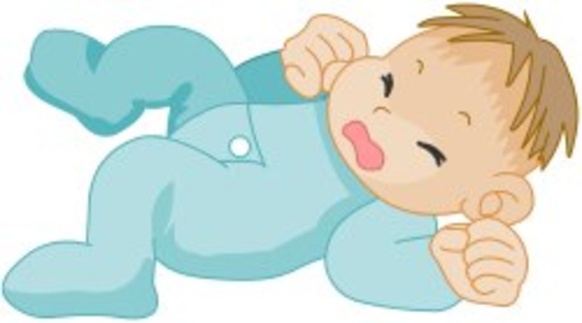 Crying Baby Image courtasy of DailyClipArt.net