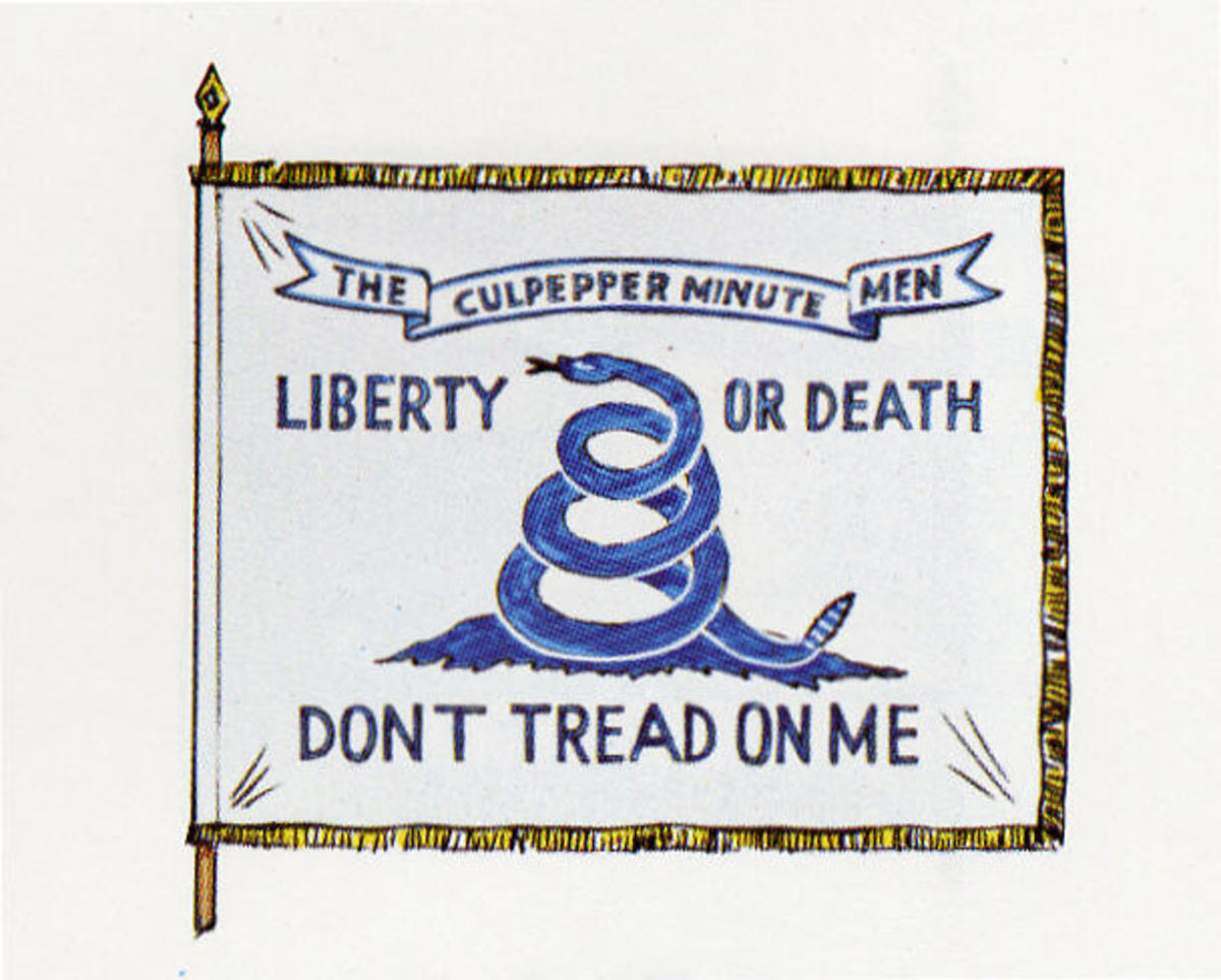 Culpeper Minute Men Flag, 1775