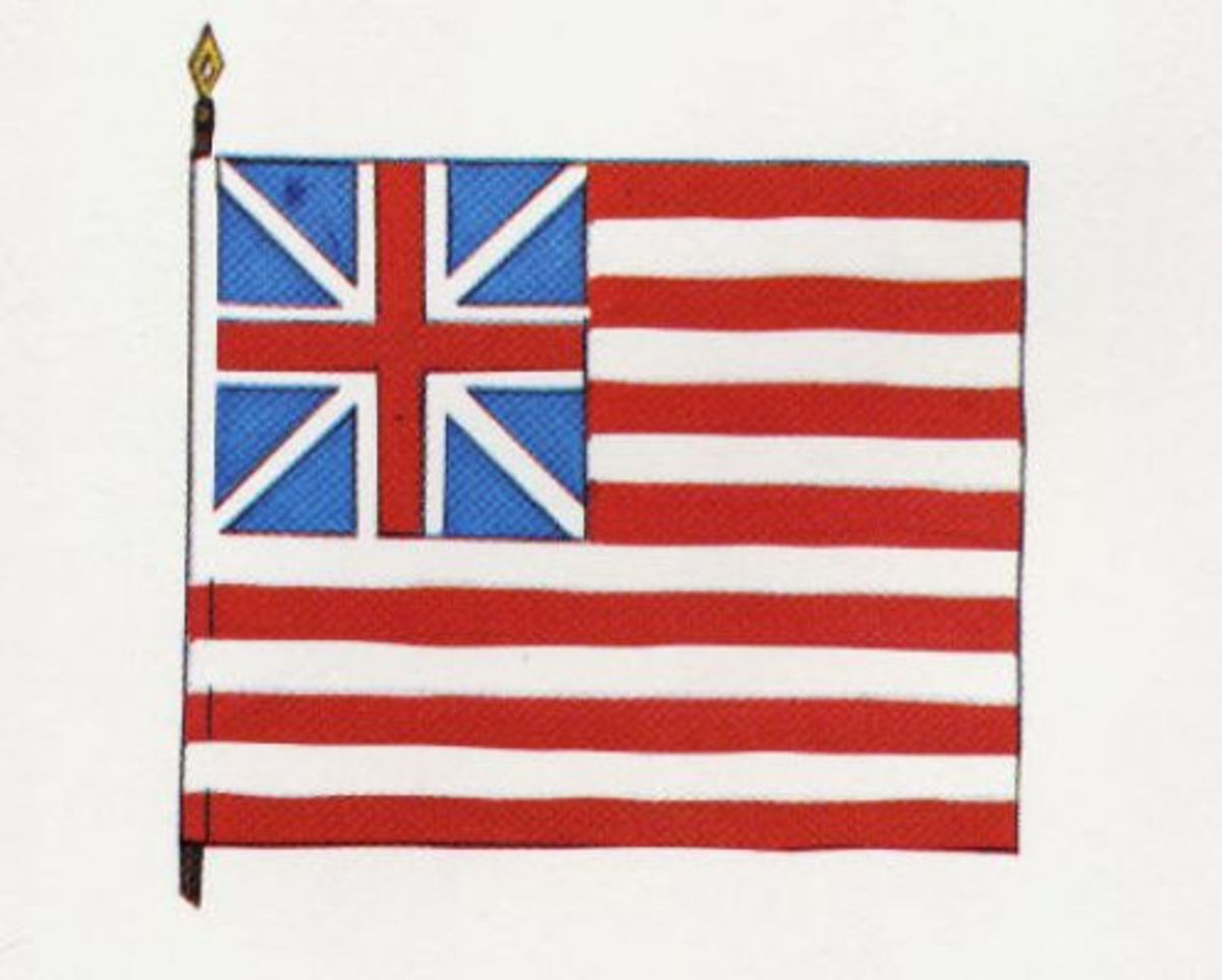 Continental Colors, June 1, 1776.