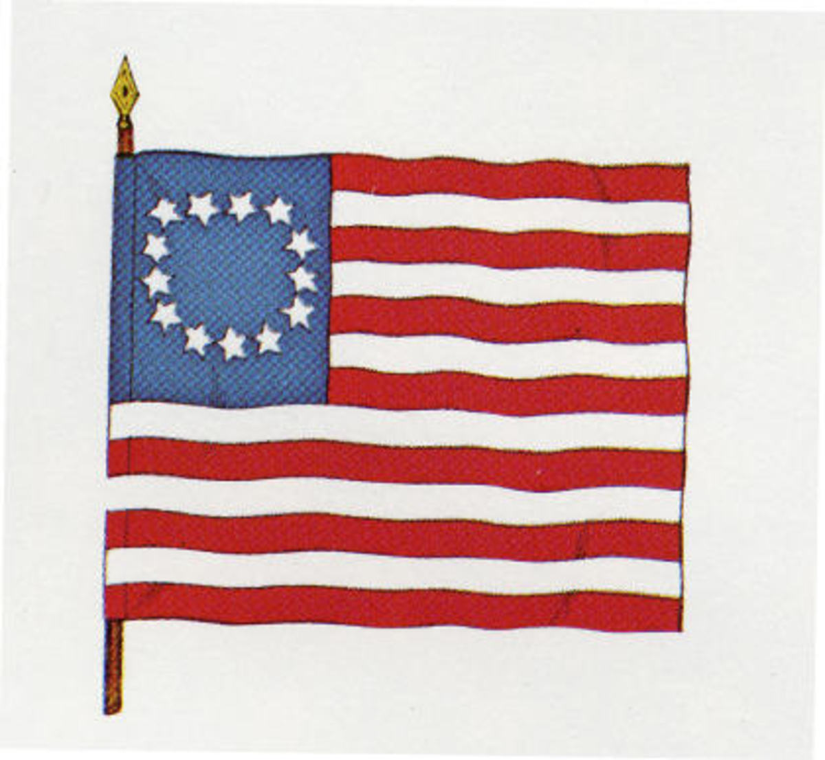 Betsy Ross Flag, used only in New York