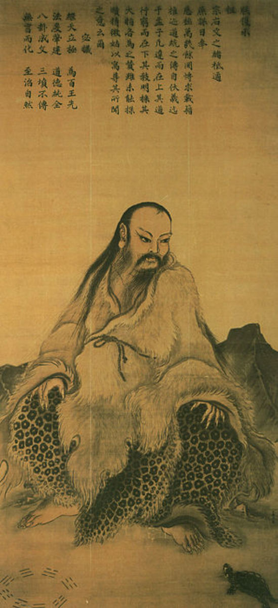 Painting of Fu Xi