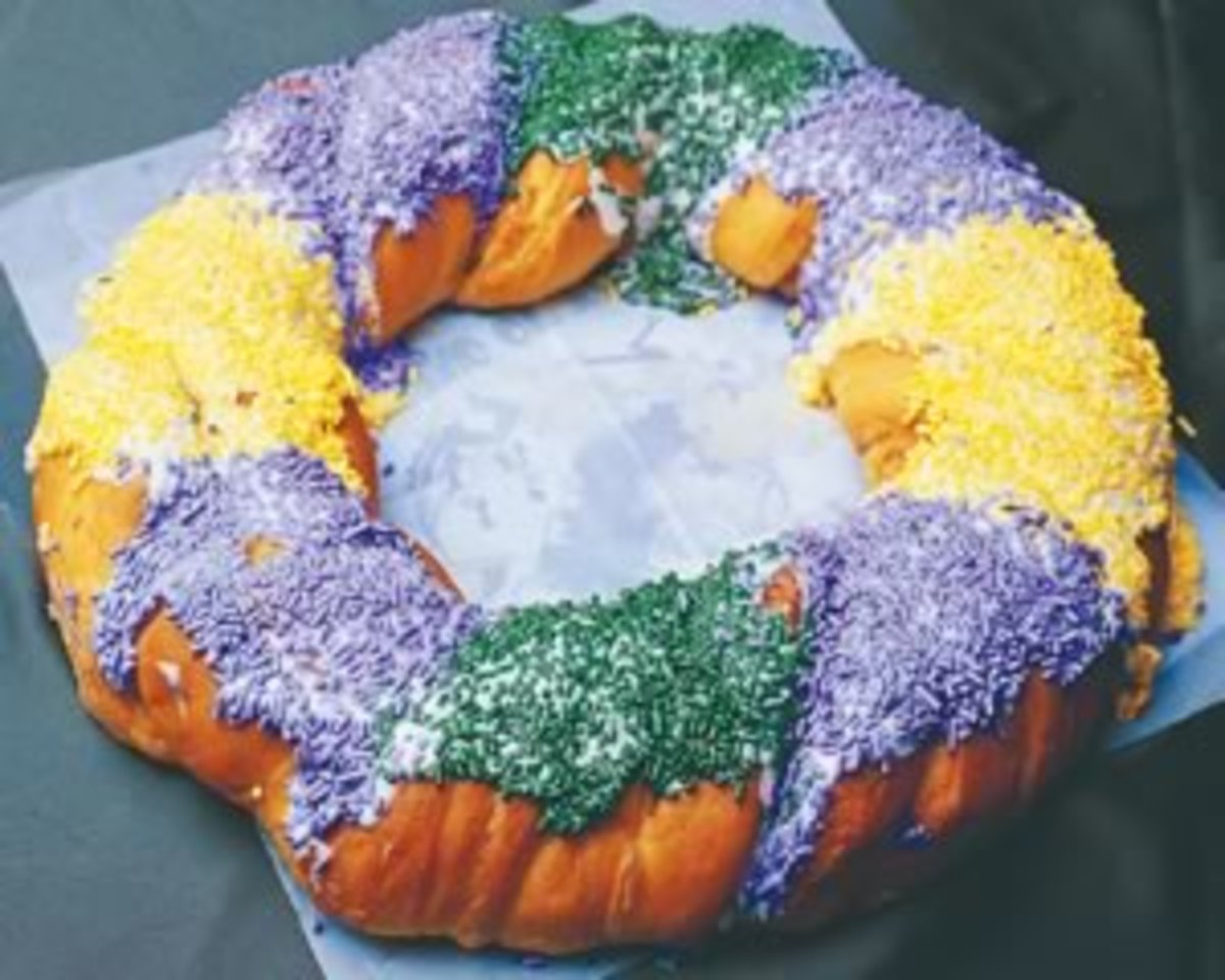 Delicious Recipe for Low-Fat King Cake