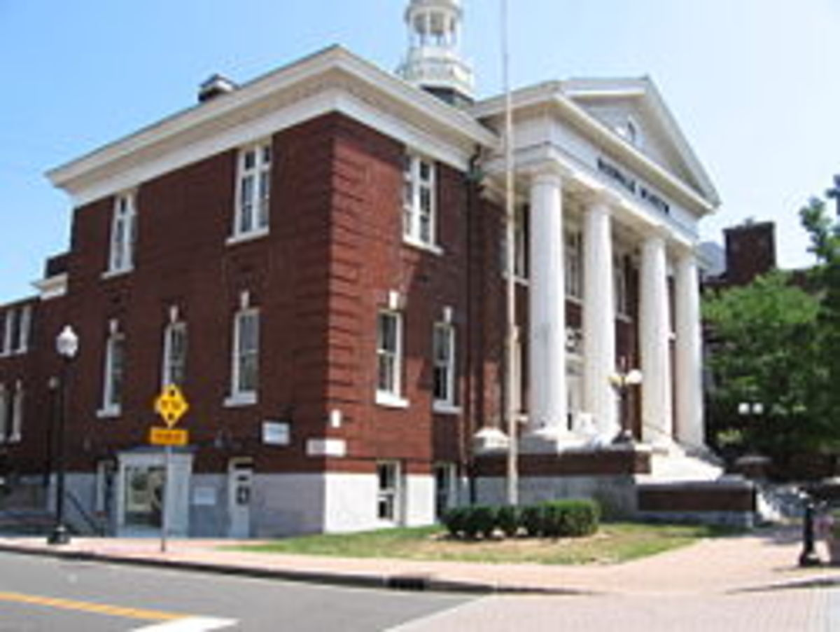 Norwalk Museum in South Norwalk, the building formerly housed Norwalk's City Hall