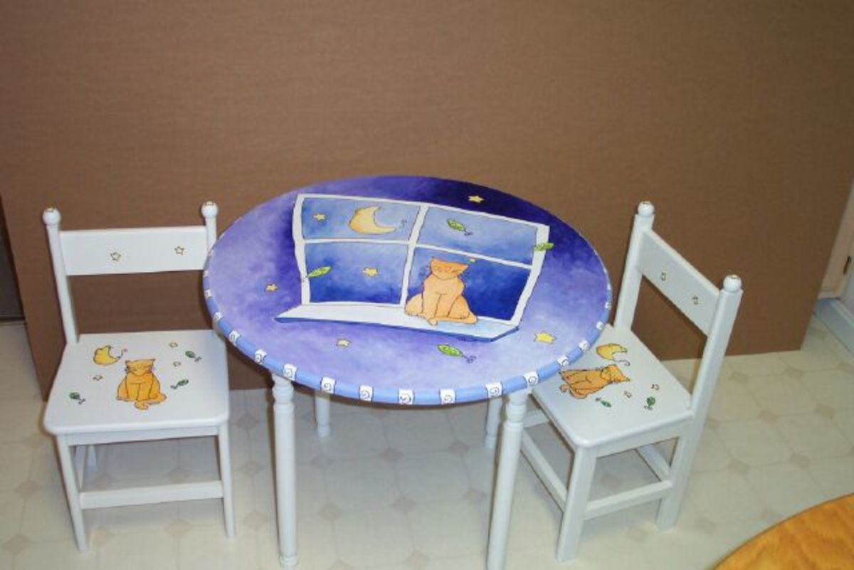 Making Children's Furniture to Sell