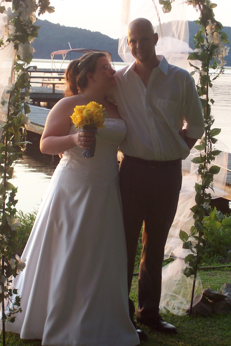 Our Wedding  7-1-06