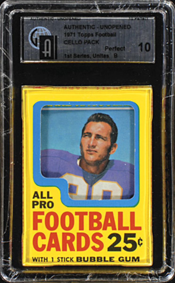 1971 Topps FB Cello Pack