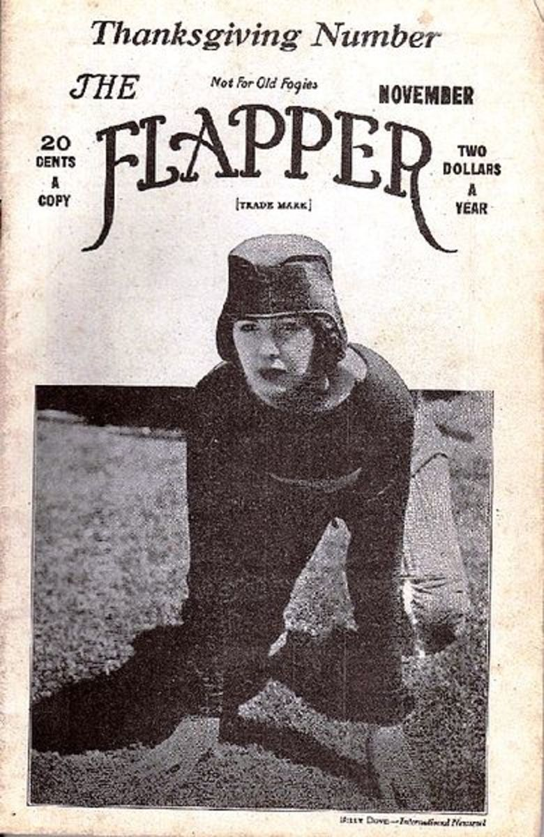 Women's football shown by actress Billie Dove in 1922.