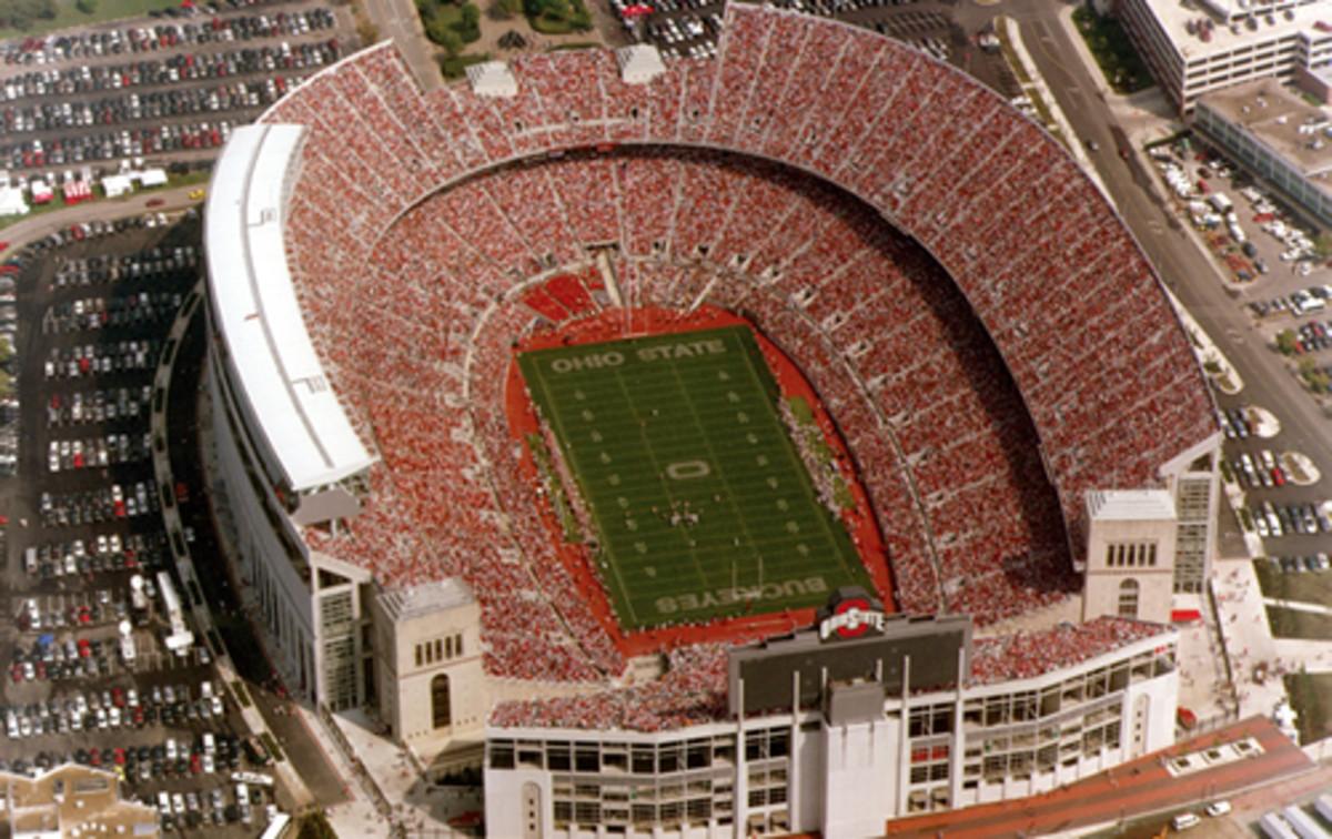 Ohio Stadium, renovated 2001.