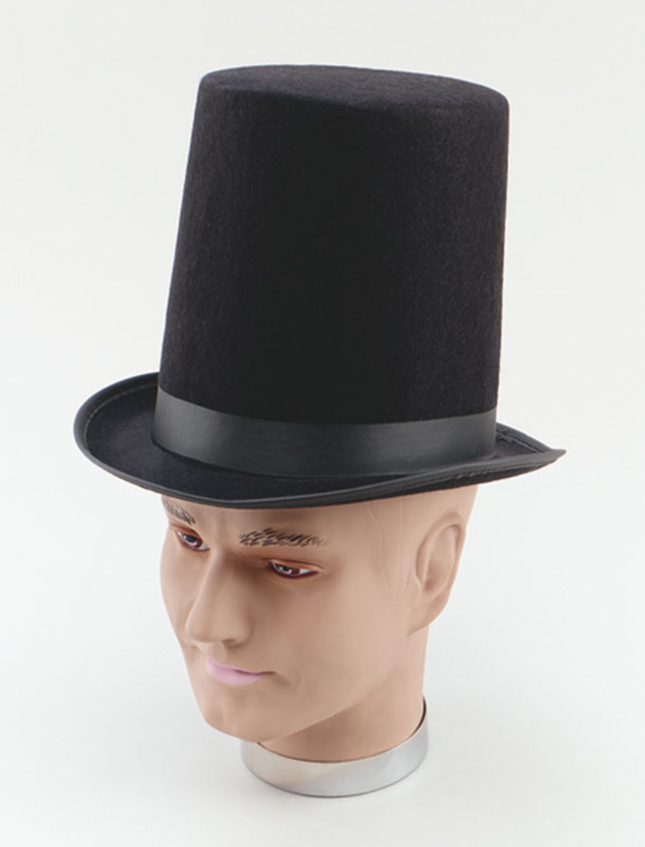 Add a top hat to get a Victorian look