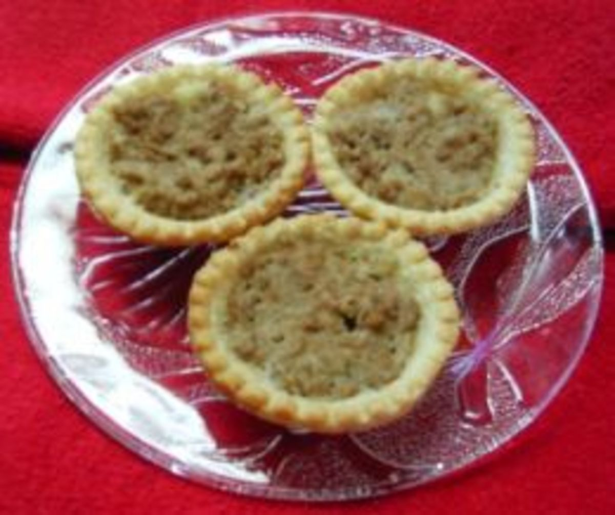 Tourtiere Tarts (from Weight Watchers Recipe)