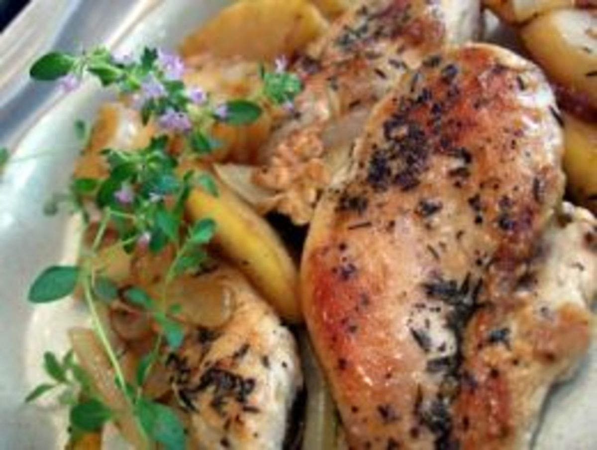 Apple Chicken (from Weight Watchers Recipe)