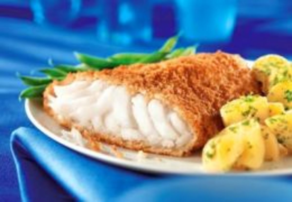 Crisp Fish Fillets (from Weight Watchers Recipe)
