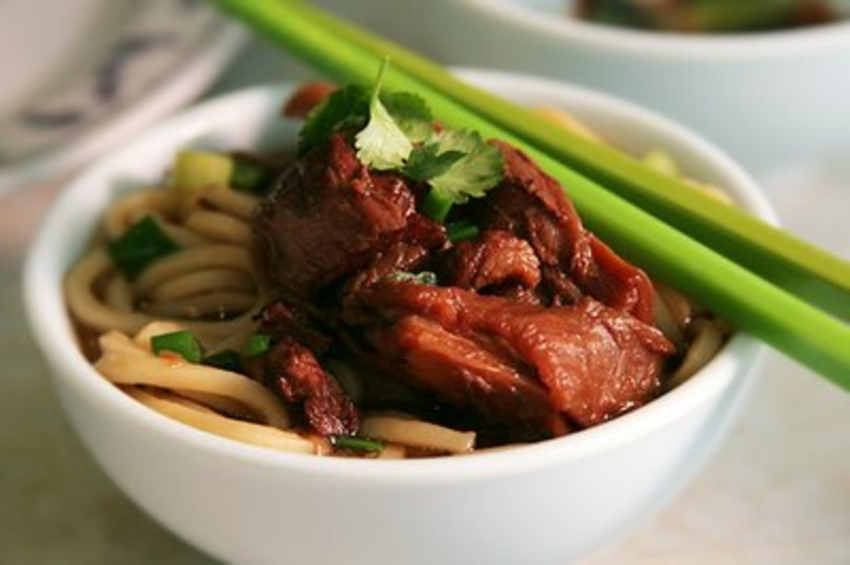 Beef Noodle Soup (from Weight Watchers Recipe)