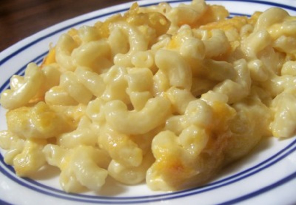 Macaroni and Cheese (from Weight Watchers Recipes)