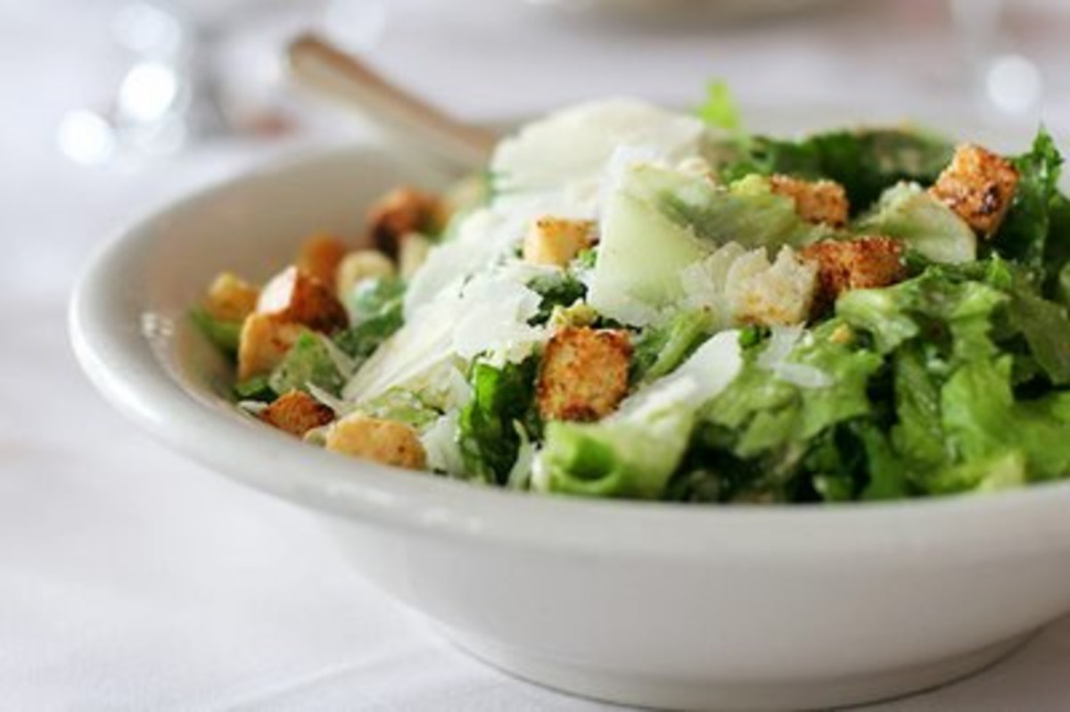 Caesar Salad (from Weight Watchers Recipes)