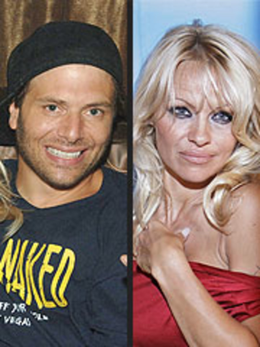 Pamela Anderson Recently Married Rick Salamon who she says is a long term friend of hers.