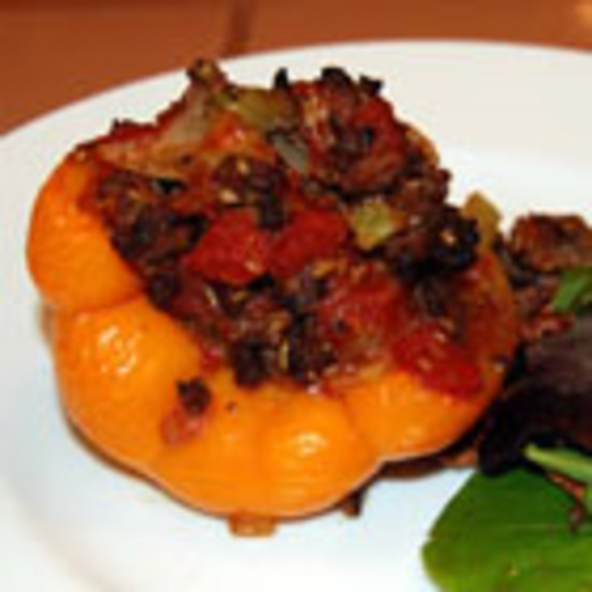 Simple and Easy Stuffed Peppers (from Allrecipes)