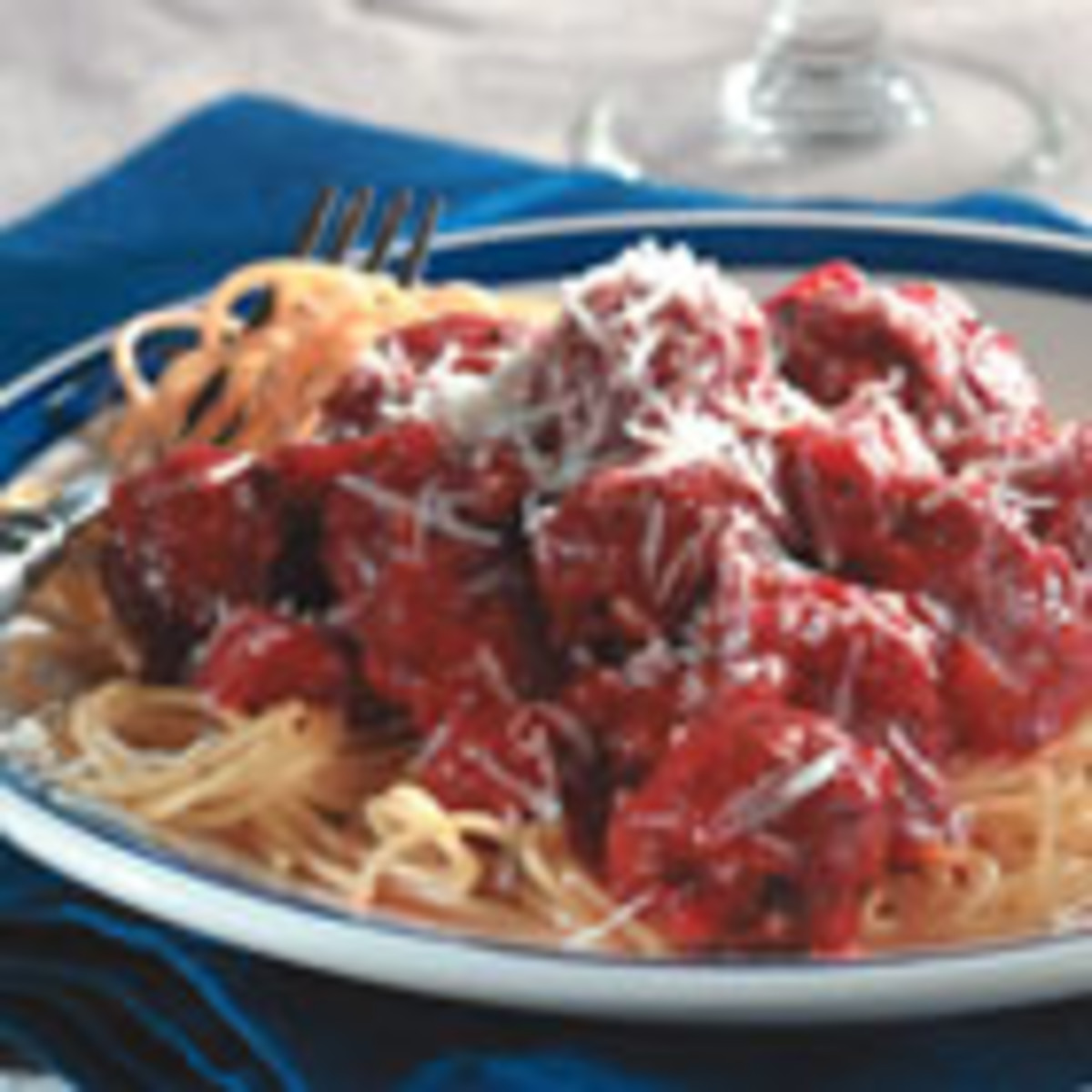 Italian Spaghetti Sauce with Meatballs (from Allrecipes)