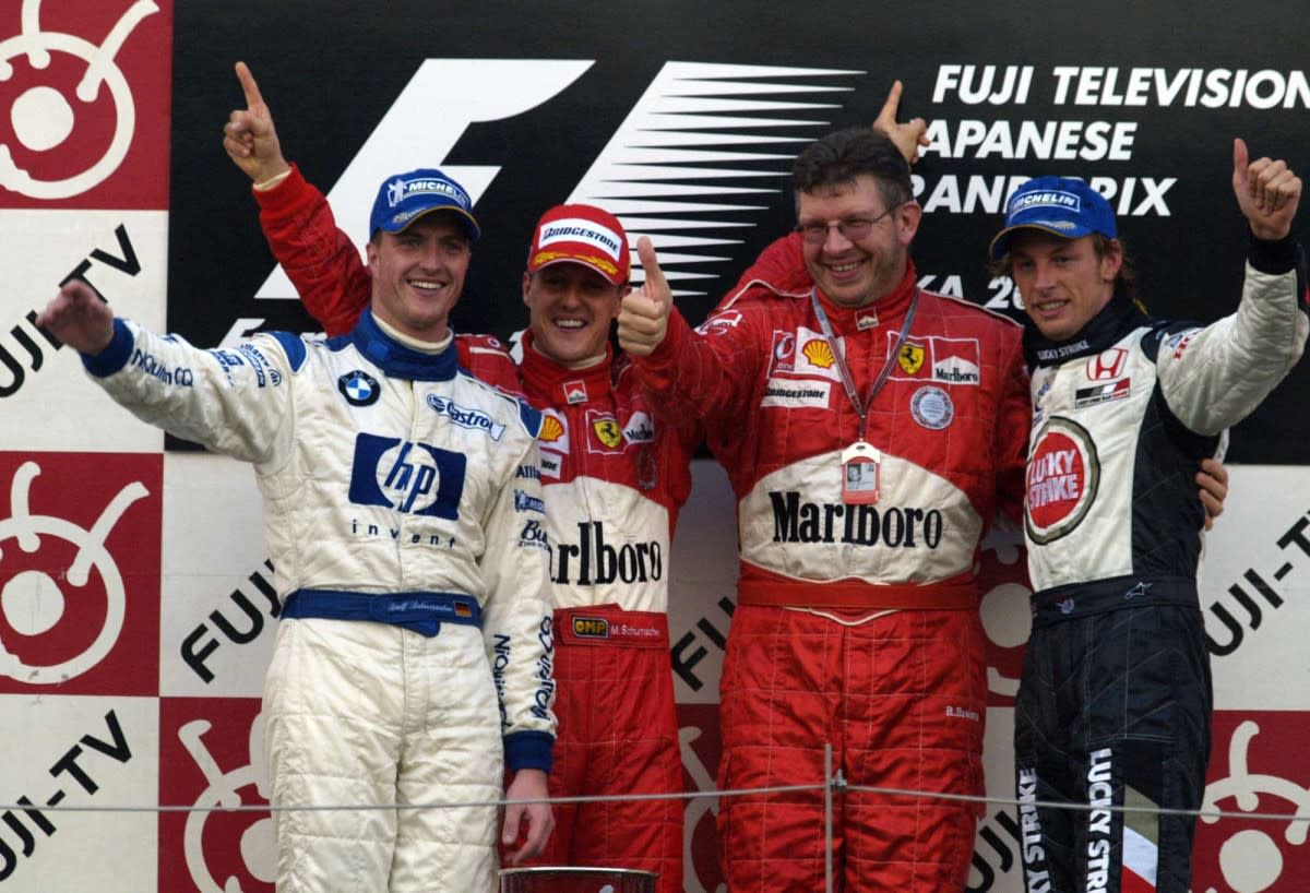 The 2004 Japanese GP: Michael Schumacher's 83rd Career Win