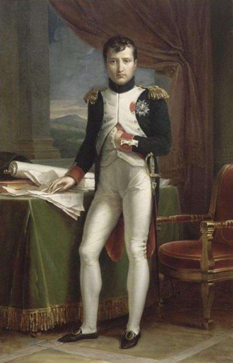 Napoleon en Uniforme de Colonel, by François Gerard