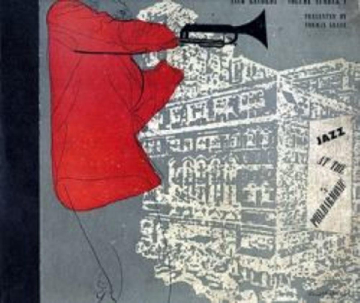 """Jazz at the Philharmonic"" JAPT Stinson Records 78 rpm Record Album Set"