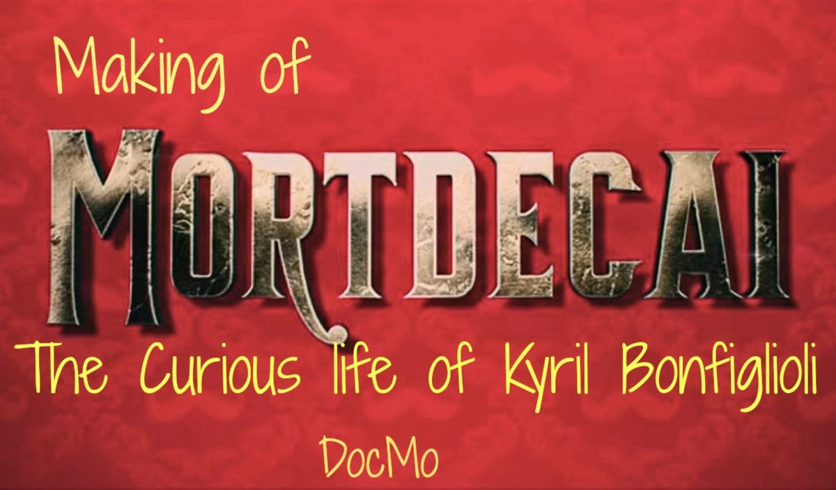 Making of Mortdecai - The Curious Life of Kyril Bonfiglioli