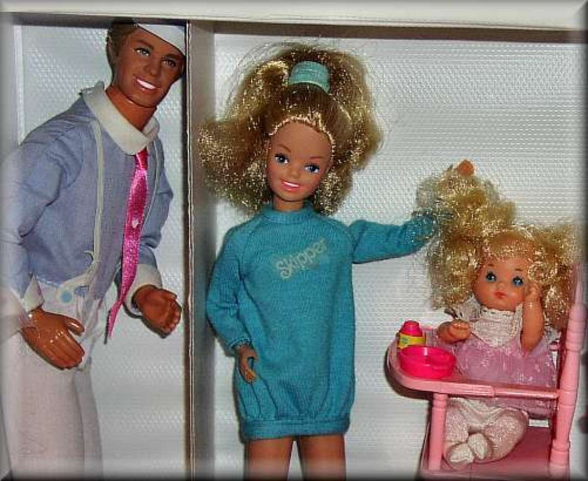 Mr. Heart was thrilled to be living with a real Barbie, with a real family, in his own space  . . . .