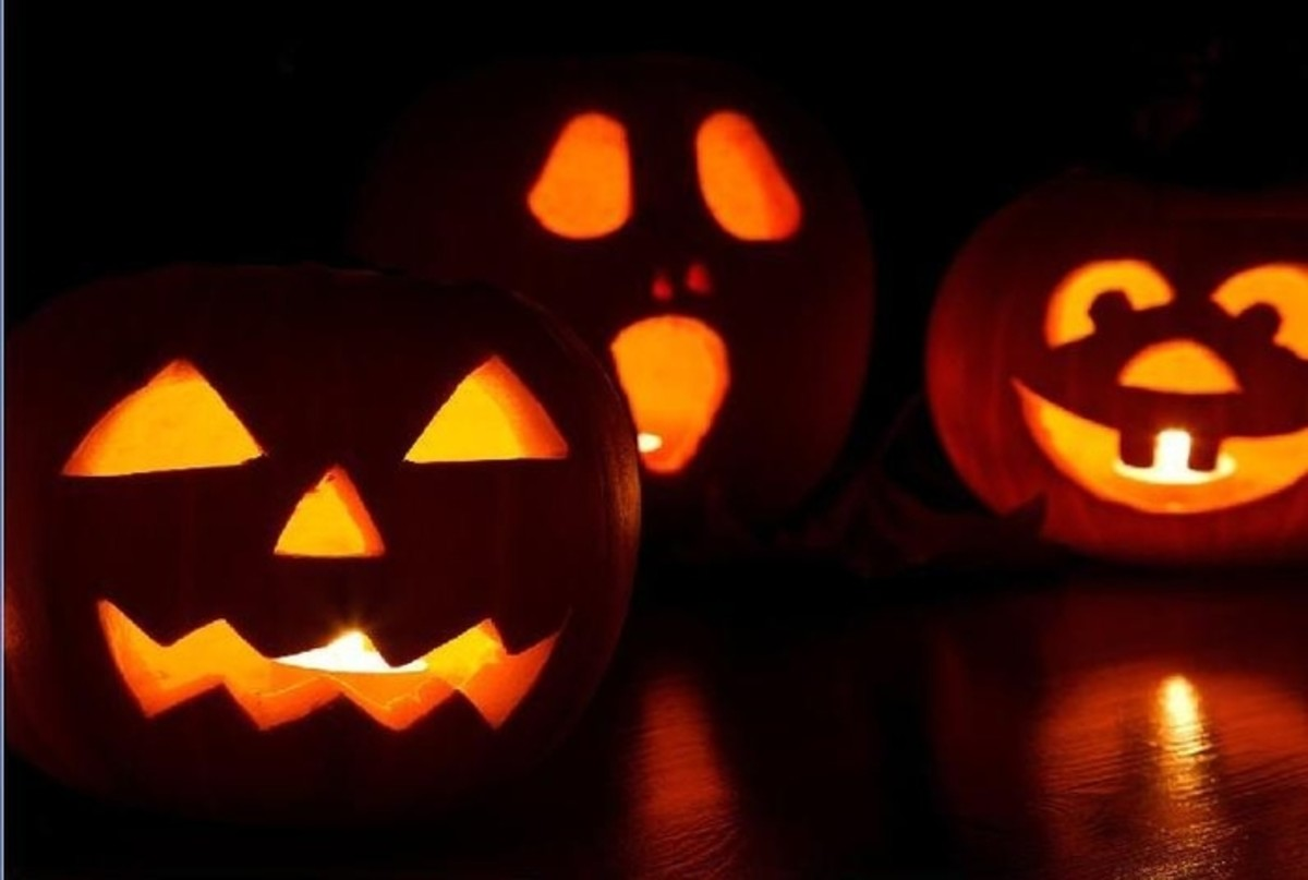 Three Pumpkin Carving Ideas